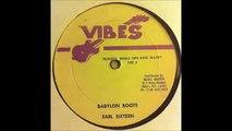 Earl Sixteen - Babylon Boots