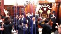 Rabbi Yisroel Aron Goldenberg's Wedding (a/k/a Satmar Rabbi of Woodridge), at his Synagogue & House.