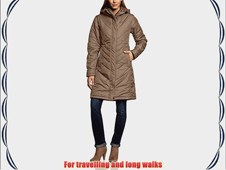 Jack Wolfskin Crystal Iceguard Women's Coat Brown mocha Size:XL