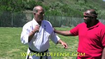 WHIP SELF DEFENSE KEYCHAIN WITH HAPKIDO MASTER STEVE SEXTON Fight Back and Win!