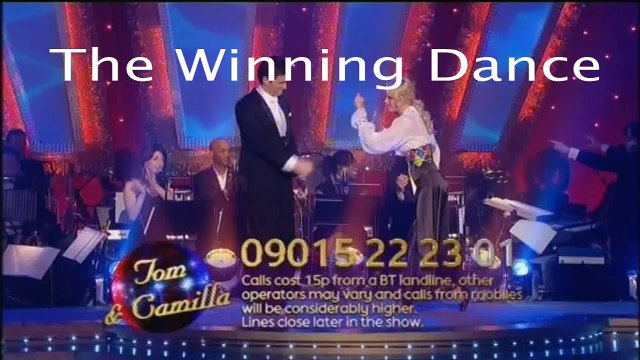 Strictly Come Dancing 2008: Tom & Camilla's Winning Dance