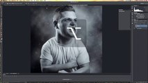 Photoshop Tutorial Dodge & Burn Look Deutsch
