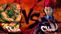 Super Street Fighter IV Arcade Mode (Dhalsim Pt. 1/3)