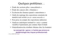 Charles-Olivier Betansedi, GISCOP93: épidémiologie et cancers professionnels féminins