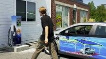 Level II Solar Electric Vehicle Car Charging in Portland, Maine