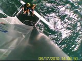 Katamaran Segeln am Garda See 2010 - Eagle F14 High Speed, in HD