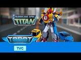 TOBOT Titan Hurricane INTL TVC [또봇 타이탄 해외 티비광고]