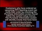 lounge music WWE Dish Network PPV