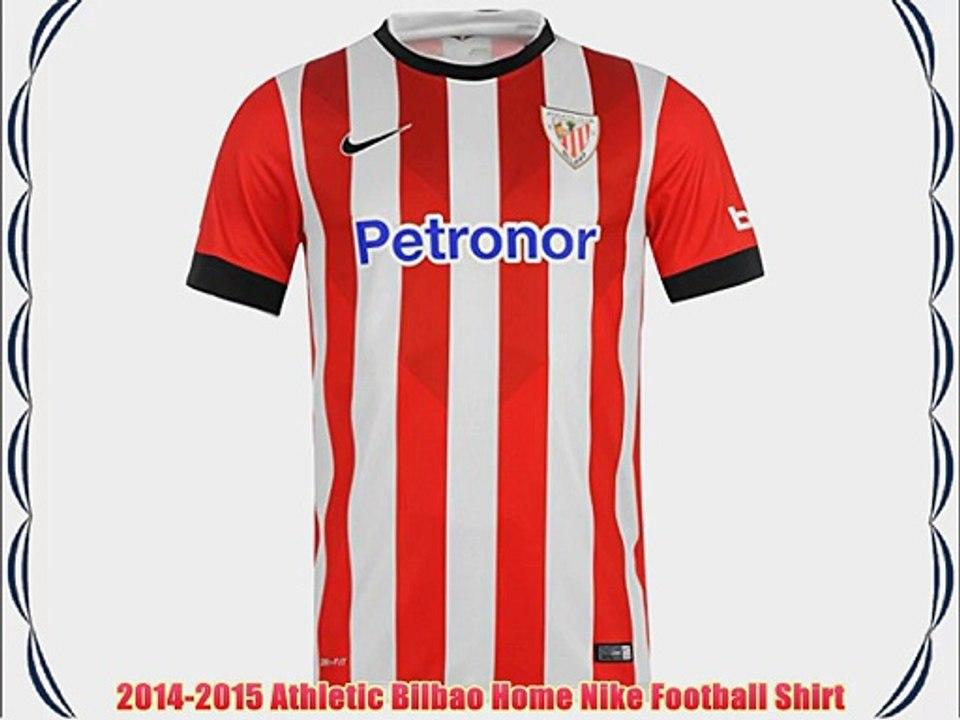 Respecto a Similar Mecánicamente  2014-2015 Athletic Bilbao Home Nike Football Shirt - video Dailymotion