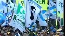 Gerardo Martinez UOCRA - Cristina Kirchner innauguro las Torres San Jorge