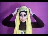 Hijab Tutorial : Cara Memakai Jilbab Segi Empat Modern Yang Simple 2015