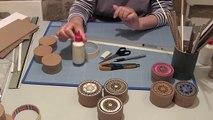Comment faire des boites en marqueterie de carton?