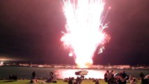 45min Fireworks show malfunction blows in 30sec in San Diego! 4th July Fail