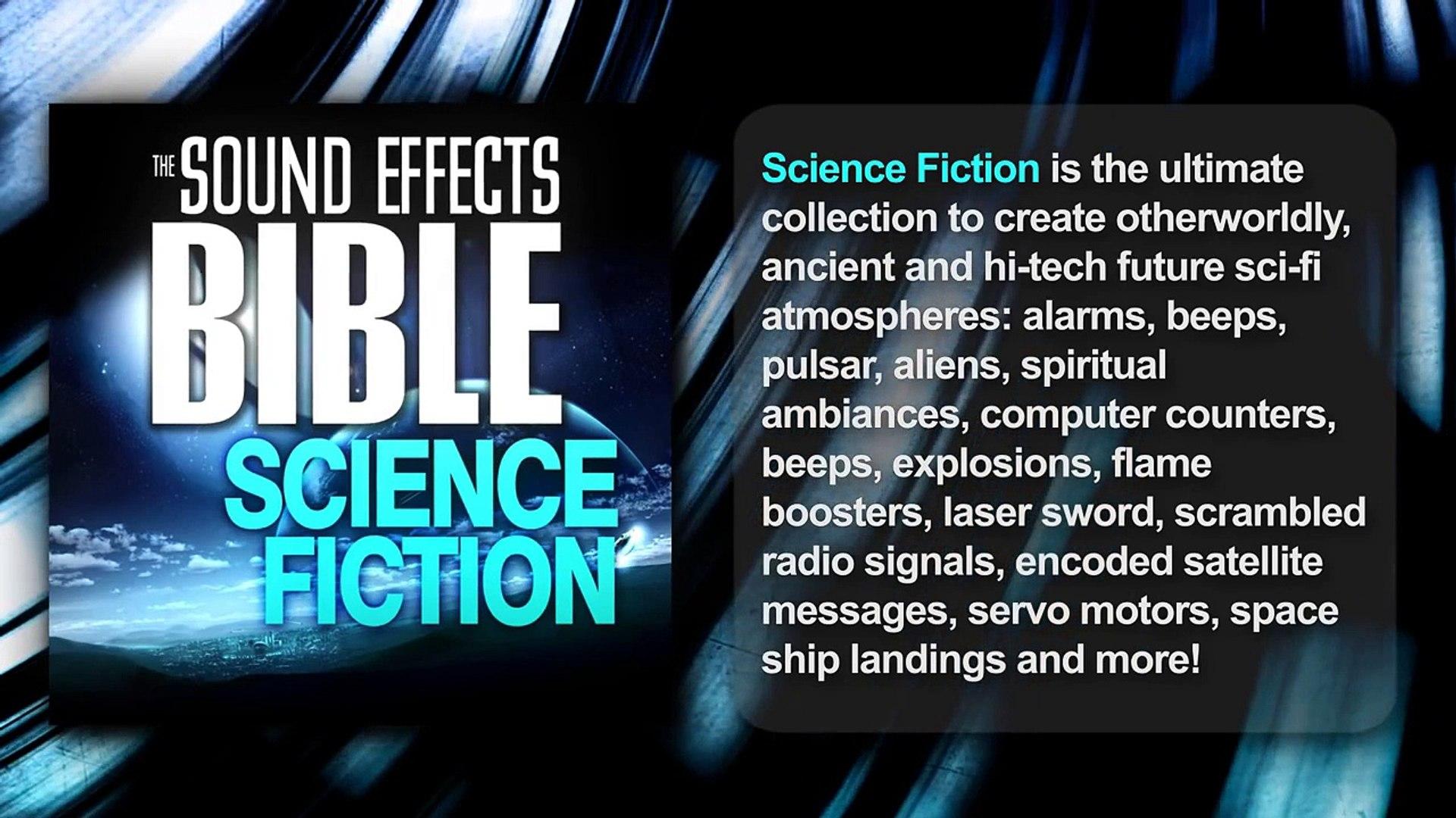 Sound Effects Bible Sound FX SFX packs