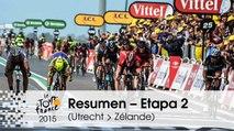 Resumen - Etapa 2 (Utrecht > Zélande) - Tour de France 2015