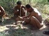 Bushmen of the Kalahari desert