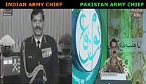 Indian Army Cheif VS Pakistan Army Cheif - Must Watch