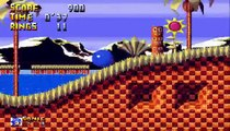 Sonic 1 Harder Levels V1.0 Preview Footage - Green hill Act 3 As Sonic