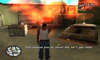 GTA San Andreas  Walkthrough  Mission№006   Nines and AK's