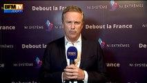 """Grèce: """"On va vers la sortie de la Grèce de l'euro"""", analyse Dupont-Aignan"""