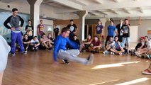HOT SOUL JAM 2       bboy HOLY bboy CHEGRID VS bboy Онил bboy GNEV