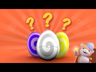 Looi the Cat | Learn English with Looi's Surprise Eggs | Colors