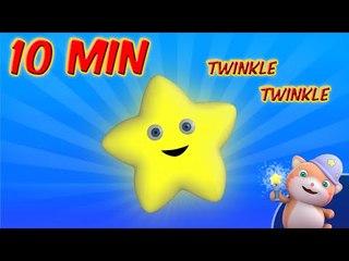 Twinkle Twinkle little star - Nursery rhymes, Looi the cat
