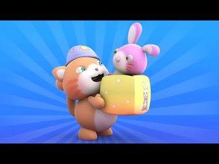 Looi the cat - a maracas playing Bunny, for kids