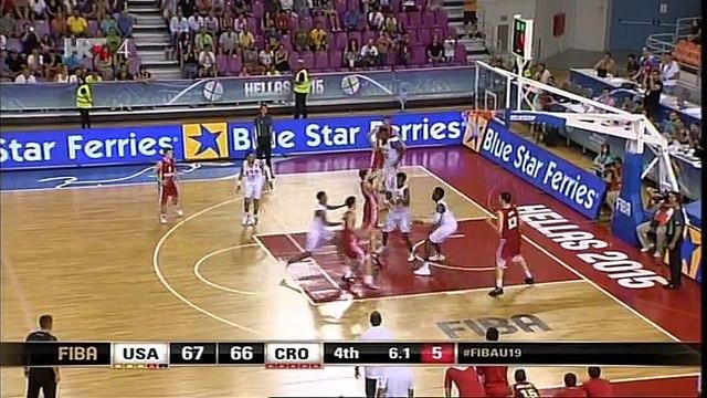 SAD U19 - Hrvatska U19 79-71 (67-67) ET, slobodna bacanja za pobjedu, ali..., 05.07.2015.
