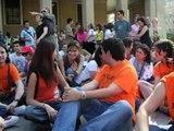 Sentada por una vivienda digna (Zaragoza)