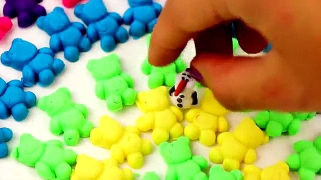Peppa Pig Dippin Dots, Play Doh Shopkins Lollipops surprise with Disney Princess Toys, Rainbow doug