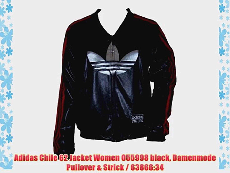 Adidas Chile 62 Jacket Women O55998 black Damenmode Pullover