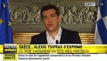 Tsipras : «Dès demain, la Grèce retournera à la table des négociations»