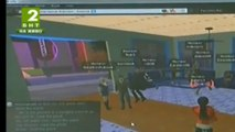 Interactive lesson at 3D virtual classroom shown by BNT(Bulgarian National Television) - Part2