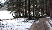 Bigfoot Tracks Feb 2008 - Lillooet Lake, British Columbia