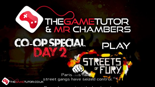 CO-OP Special Day 2: Streets of Fury EX