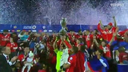 Chile Campeón, Argentina Vencido - Final Copa América 2015