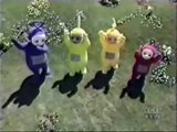 Teletubbies dancing on Hatsune Miku singing Holly Dolly (Ieva's Polka from Loituma)