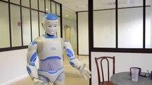 High-tech 2015, le robot francais, qui fait concurrence aux japonais