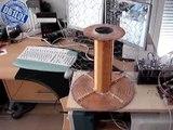 Musical Solid State Tesla Coil - A demonstration setup