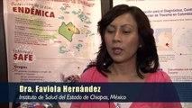 Dra. Faviola Hernández, Instituto de Salud del estado de Chiapas, Mexico