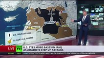 new US eyes more bases in Iraq amid talk of major offensive on ISIS news ccc_tv_ccc