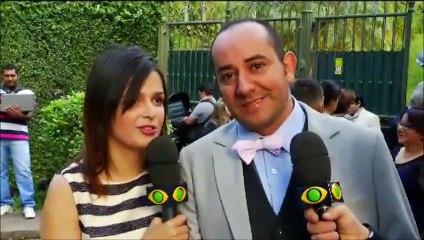 Pânico faz entrevistas no casório do Edu