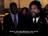 "Dr. Cornel West Endorses Che ""Rhymefest"" Smith for Chicago City Council! APRIL 05, 2011 VOTE #54"