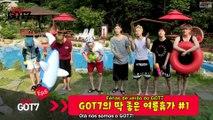 [Legendado PT-BR] GOT7 - Real GOT7 Season 3 EP 06 GOT7's Just right Summer Vacation #1