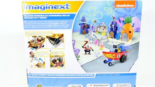 Play Doh Spongebob Squarepants Krabby Patty Food Truck Imaginext LPS Nickelodeon Toys DCTC