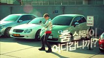 |Funny Cut| G-Dragon dancing to car alarm-Hite Beer CF