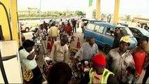 Nigeria fuel-price protests turn violent