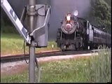 Strasburg Engine 90 Leads A Train Strasburg-bound