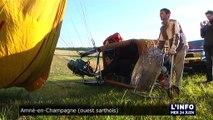 Innovation : un mois dans le ciel en ballon (Sarthe)